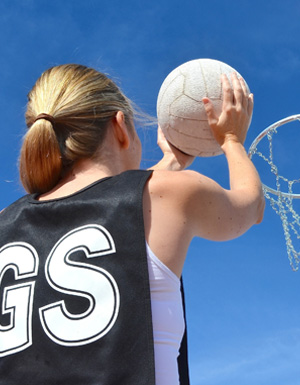 Goal-based positions in netball are uniquely demanding, with players expending a lot of energy through defending, guarding, jumping and passing.