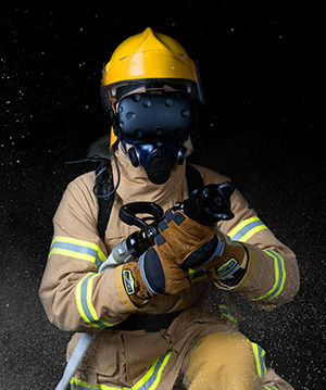 In a ship environment, firefighting is a core skill and training these skills is extremely difficult.