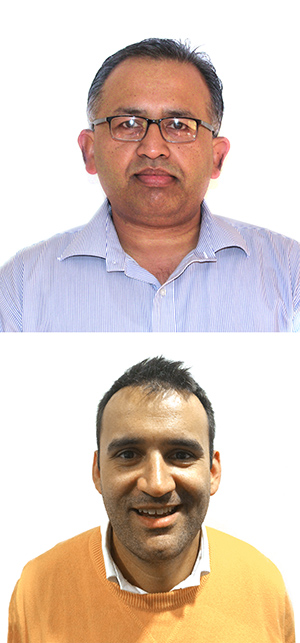 Dr Ludovic Dumee and Dr Akhil Gupta from IFM will travel to India as part of their Australia India Institute Incoming Leaders Fellowships.