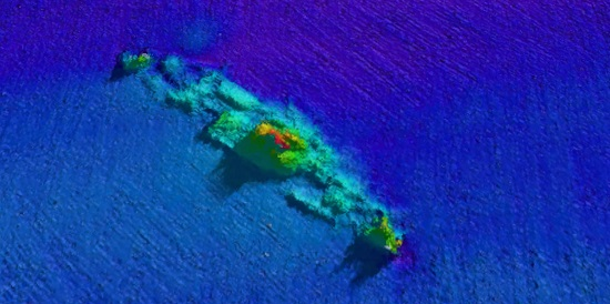 Mapping study gives first glimpse of deep reefs beneath Bass Strait