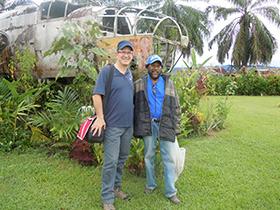 Jonand John in PNG