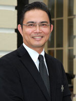Portrait of Saifuddin Bin Ahmad