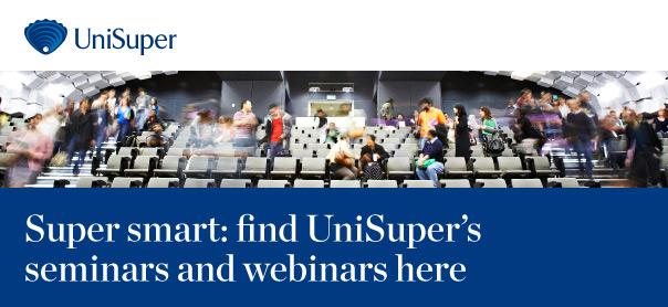 UniSuper seminars and webinars