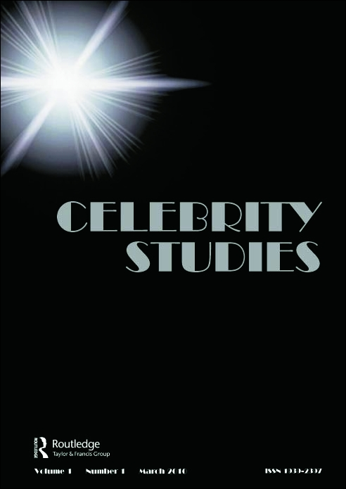 celebrity studies journal cover