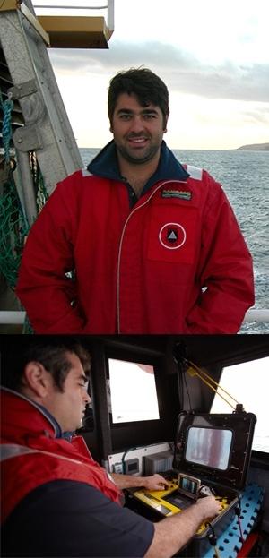 Exploring new worlds aboard the Yolla: Dr Daniel Ierodiaconou.