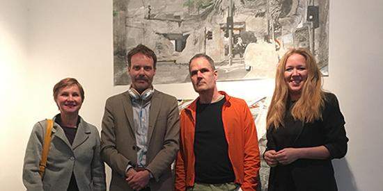 (l-r) : Mirjana Lozanovska, Tom McCarthy, Alex Hamilton, Sarah Duyshart.
