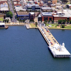 Geelong Waterfront Campus - aerial image