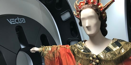Deakin uses 3-D to scan costumes in Arts Centre Melbourne's national collection
