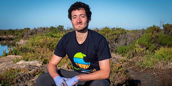Dr Martino Malerba, Blue Carbon Lab (Centre for Integrative Ecology)