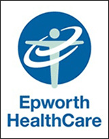 an image of the epworth hospital logo