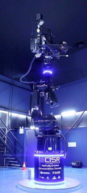The Universal Motion Simulator.