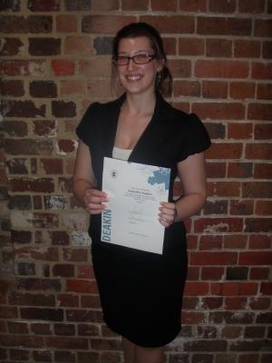 PhD candidate Jennifer Squire