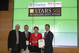 Wharton-QS Stars Award