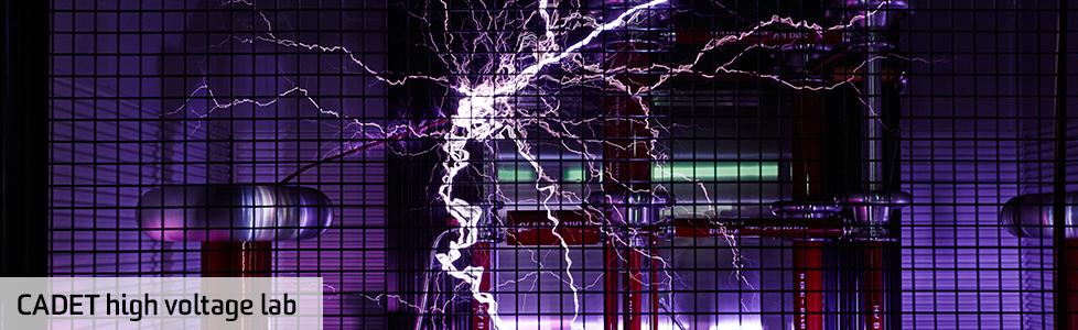 CADET high voltage lab in action