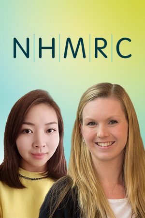 Dr Miaobing (Jazzmin) Zheng and Dr Briony Hill are Deakin's newest NHMRC Early Career Fellows.