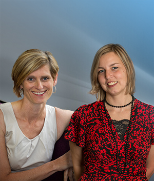 Professor Tania de Koning-Ward and Dr Olivia Dean.