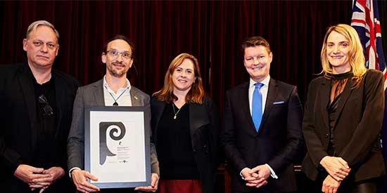 Deakin-led team takes out highest honour at Victorian design awards