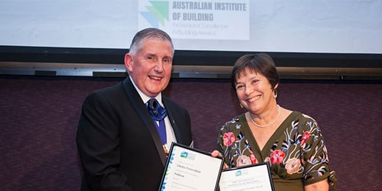 National award for construction management teaching excellence