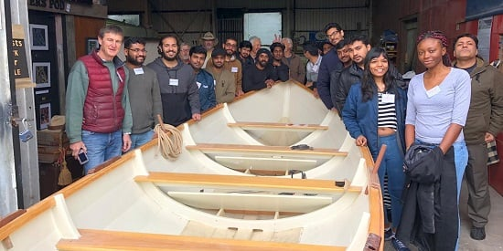 Deakin students find skiff project builds friendships, not just boats
