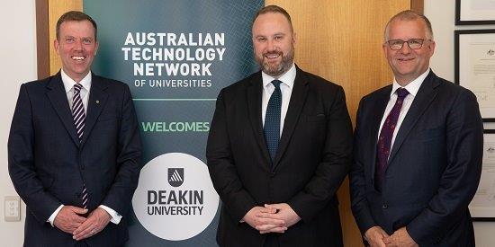 Deakin joins ATN | Deakin