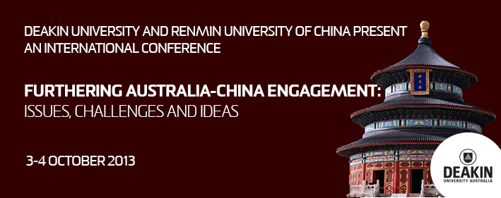 Furthering Australia-China Engagement