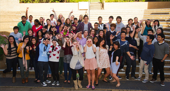 DOSS Students Group Photo