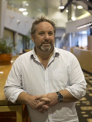 Professor Peter Hodgson Director of the Institute for Frontier Materials (IFM).