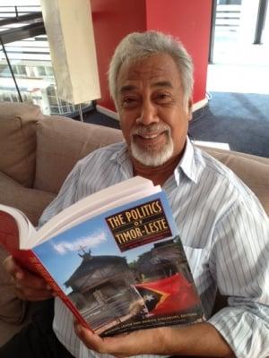 Prime Minister of Timor-Leste, Xanana Gusmao enjoying his copy of the new release.