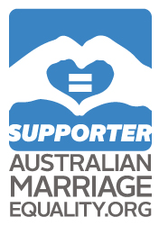 Supporter: Australian Marriage Equality .org
