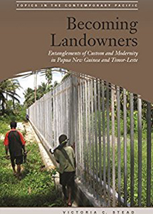An image of the book cover of becoming landowners