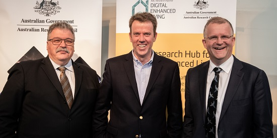 Deakin launches Digital Enhanced Living Hub to improve home care