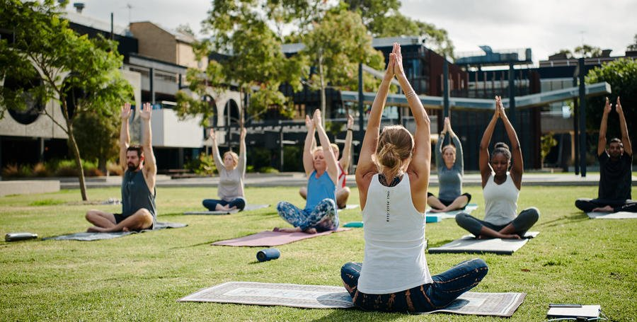 Yoga at Geelong Waurn Ponds Campus