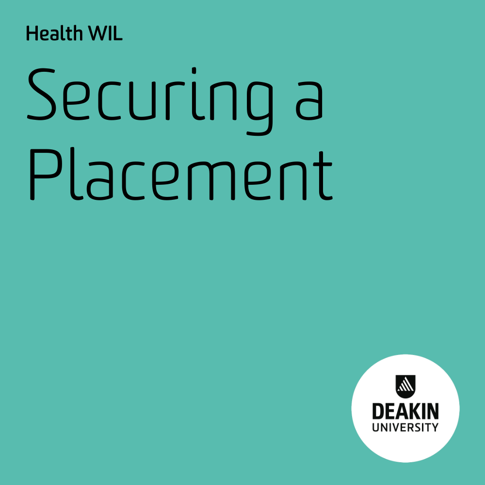 Securing a Placement