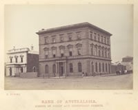 Bank of Australasia, corner of Malop and Gheringhap Streets