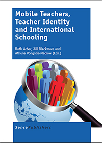 of the cover of Mobile Teachers, Teacher Identity and International Schooling (2014)