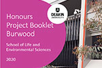 Burwood project booklet cover