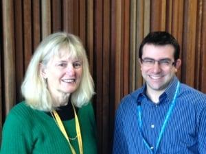 Professor Marita McCabe and Dr Gery Karantzas.