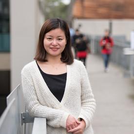 Female International student