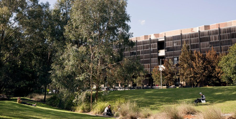 Parkland at the Burwood Campus