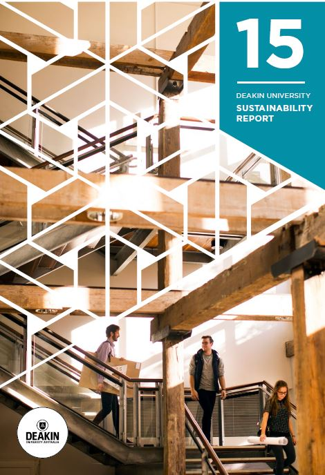 Sustainaibilty Report Cover 2015