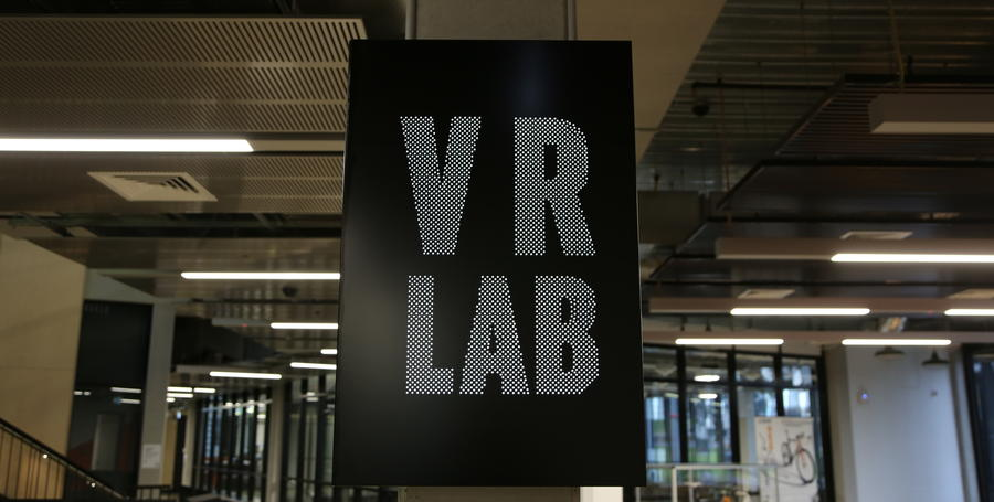 CADET VR lab sign