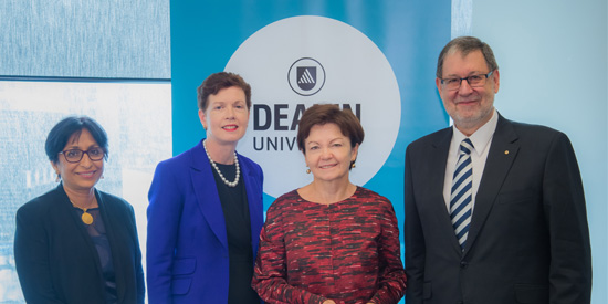 An image of Deakin researchers and external researchers