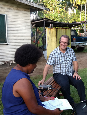 Dr Ritchie and his team have used the latest technology to help give Papua New Guineans access to their own stories of the War.