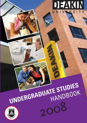 2008 UG Handbook cover