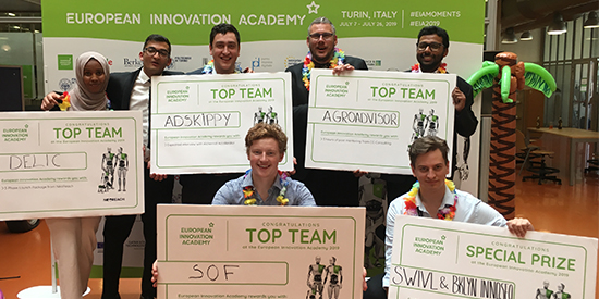 European Innovation Academy 2019 Team Prizes