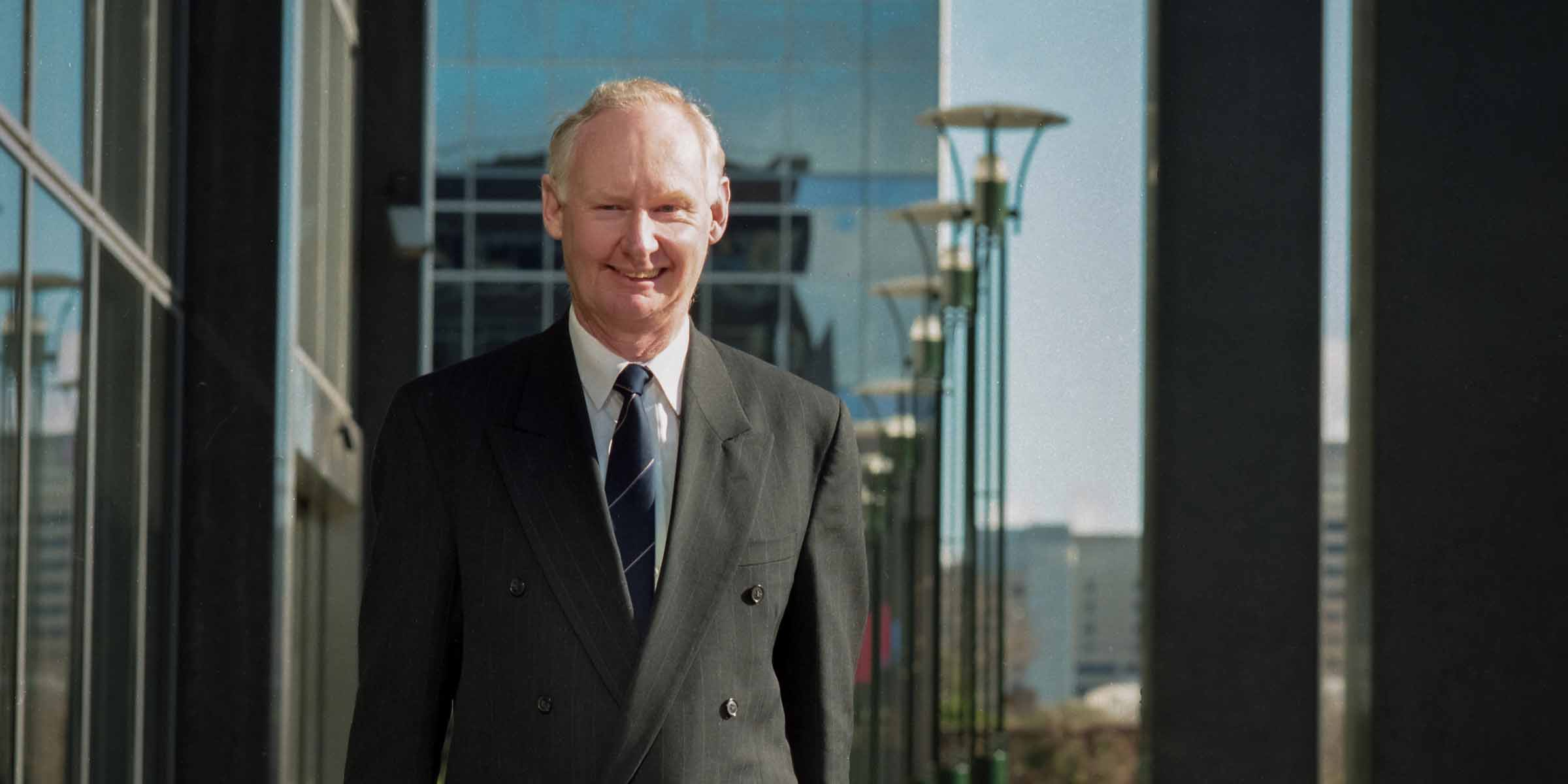 Vale Professor Geoff Wilson AM, Deakin's fourth Vice-Chancellor
