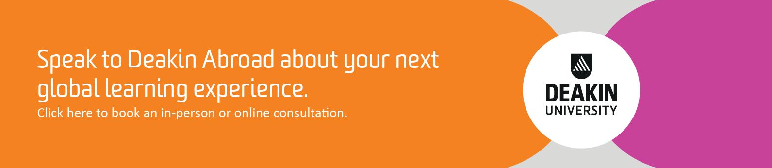 Book a consultation banner