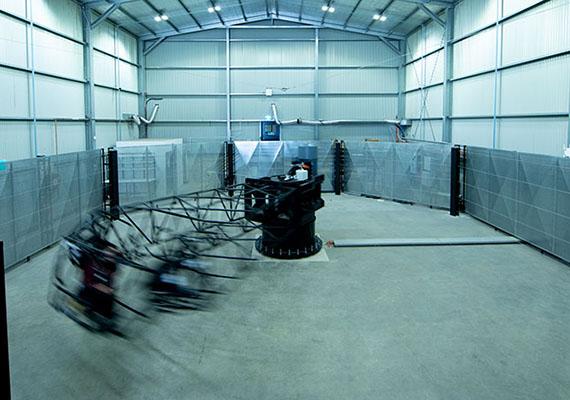 IISRI delivers high-fidelity motion simulators
