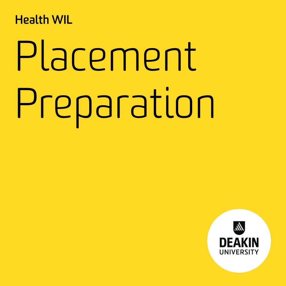 Placement Preparation