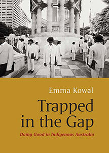 Trapped in the Gap. Front cover.
